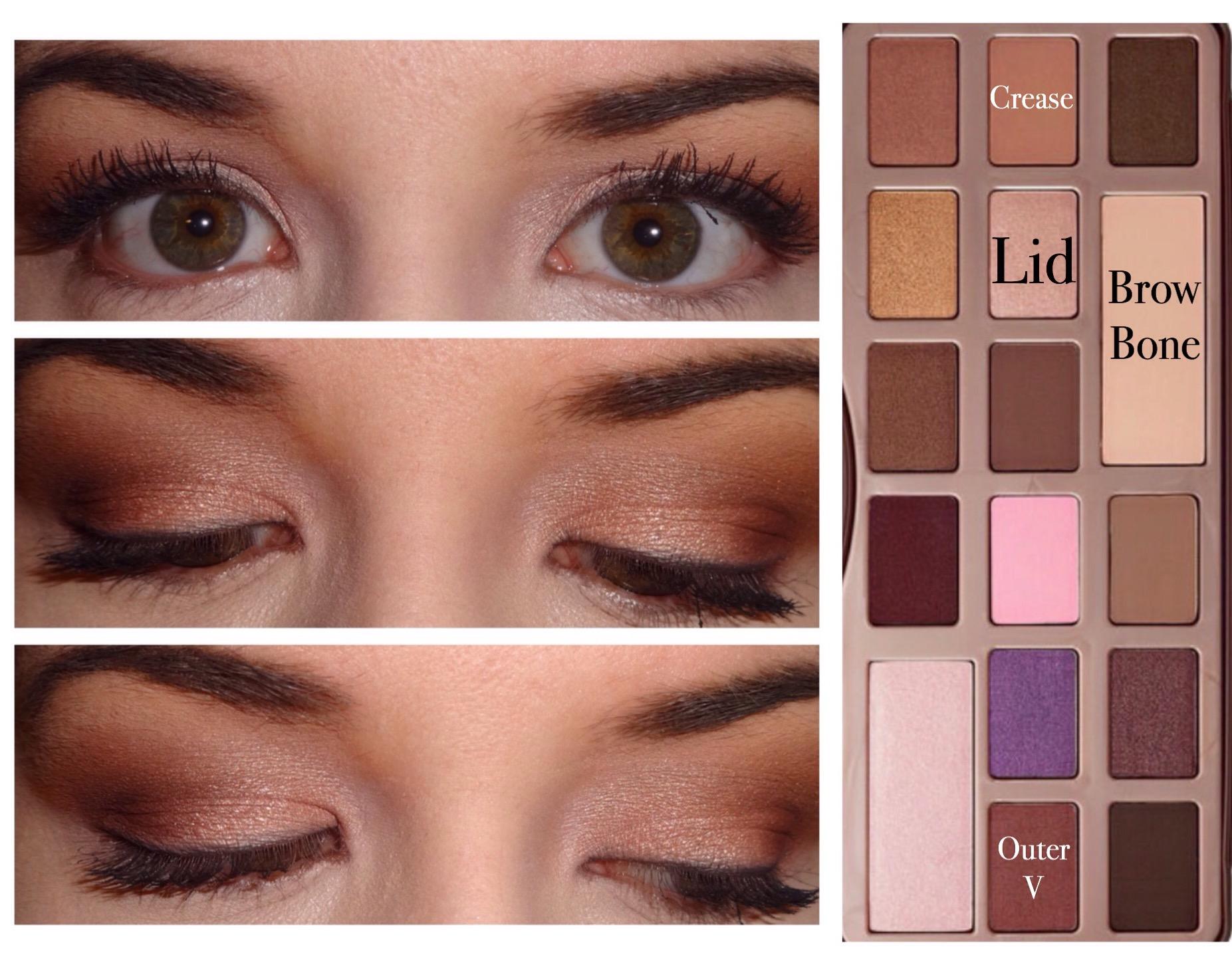 5 too faced chocolate bar palette looks makeup diva md 201501img1131g baditri Images