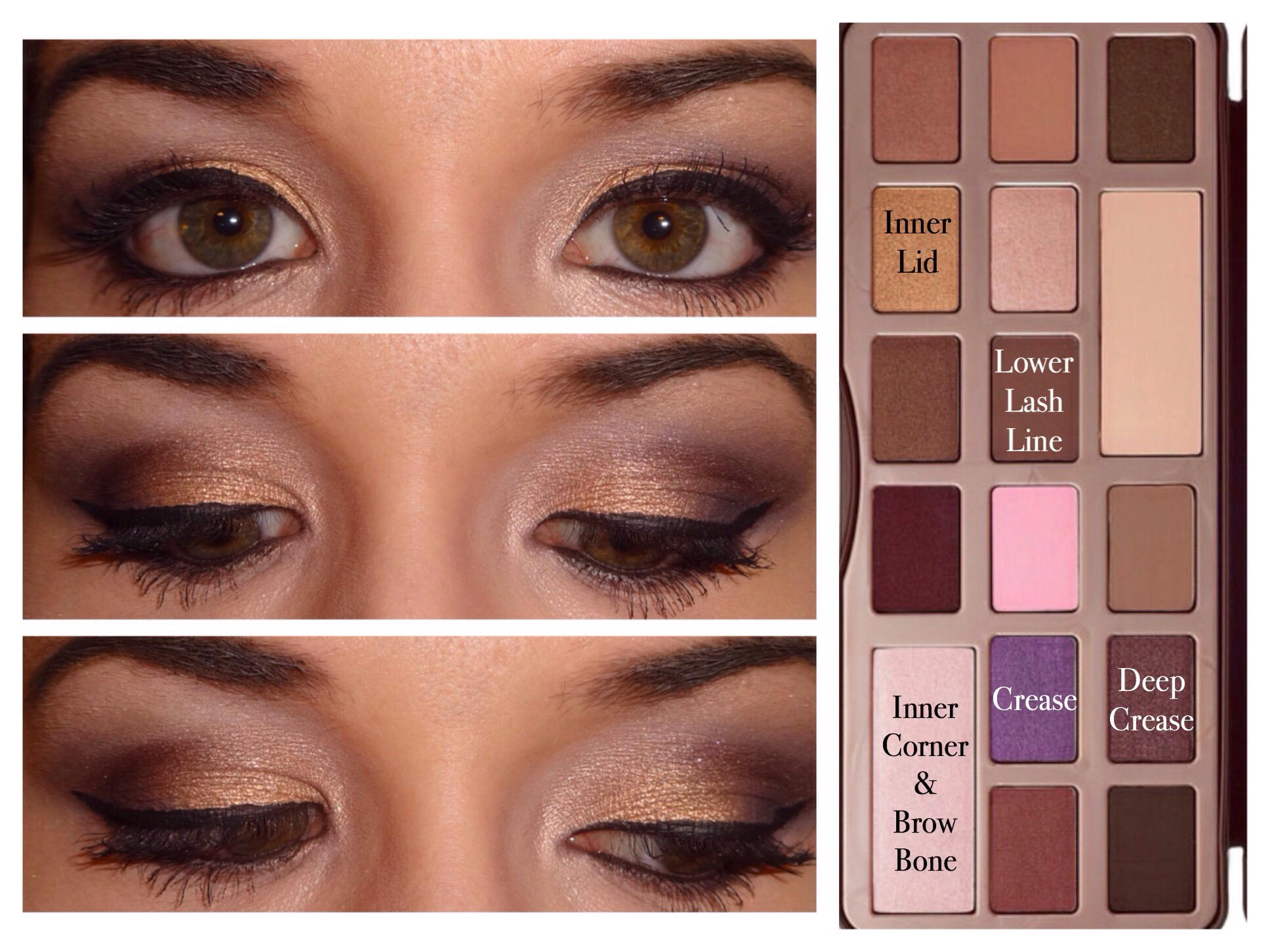 Too Faced Chocolate Bar Palette Looks Makeup Diva