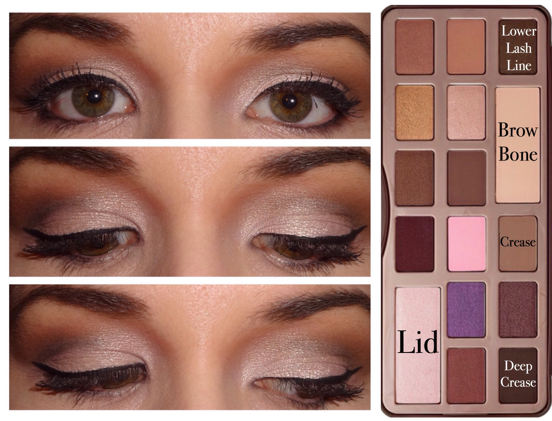 "5 Too Faced ""Chocolate Bar"" Palette Looks! 